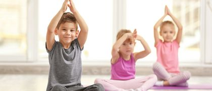 Kinder Yoga in Riehen